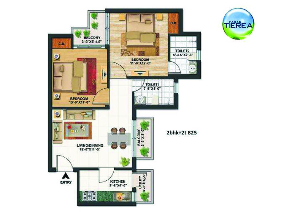 Paras tierea sector 137 noida for Architecture design for home in noida